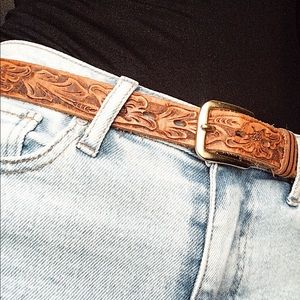Accessories - Vintage Genuine Leather Belt